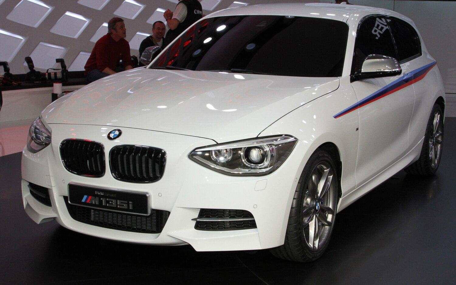 2012 BMW Concept M135i Front Left View1